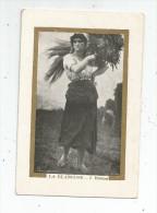 Chromo , Maison Grandry , Juranville Sr. , Chemiserie , Orléans , Peintures & Tableaux , La Glaneuse , J. BRETON - Autres