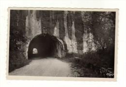 Cpsm SEYSSEL Le Fier Et Ses Tunnels - Seyssel