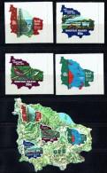 1974  Centenaire De L'UPU  Série Complète Avec Bloc-feuillet  Autoadhésifs - Ile Norfolk