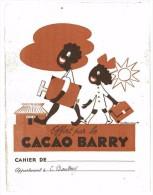 PROTEGE CAHIER CACAO BARRY ILLUSTRE PAR RENE LETOURNEUR QUELQUES ECRITURES - Electricité & Gaz