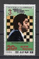Korea Chess Kasparov Echecs Ajedrez Schach ( Mi#2719 Red ) Ovpt. MNH - Schach