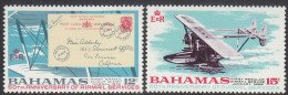 BAHAMAS, 1969 AIRMAIL ANNIV 2 MNH - 1963-1973 Interne Autonomie
