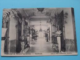Pensionnat De Melsele Lez-Anvers ( C. Van Cortenbergh ) Anno 190? ( Zie/voir Foto Voor Details ) !! - Beveren-Waas