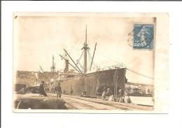 Alger  (le 07-03-1921) Le Port  (En Photo)  (Algérie) - Algiers