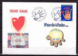 """UNIQUE : Enveloppe 1er Jour De 2004 """" LE DON D´ORGANES / PROFESSEUR CABROL """" N° YT 3677. FDC - FDC"""