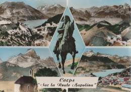 """CPSM Corps """"sur La Route Napoléon"""" - Corps"""
