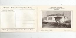 Cp , Faroleiro Restaurant , Guincho Beach , Plage Du Gincho , Portugal , Cascais , 4 Pages , 2 Scans - Hotels & Restaurants