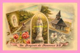 CPSM  BANNEUX  UN BONJOUR DE BANNEUX N.D - Sprimont