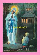 CPM  BANNEUX  N.D Aux Pieds De La Vierge J Ai Prié Pour Vous - Sprimont