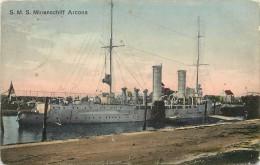 S.M.S. MINENSCHIFF ARCONA - Carte Vendue En L'état. - Guerre