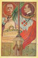 POST TELEPHONE TELEGRAF HOMAGE COMITATO AZ. PATRIOTTICA PERSONALE P.T.T. 1923 -OMAGGIO A S.M. IL RE E MUSSOLINI - Characters