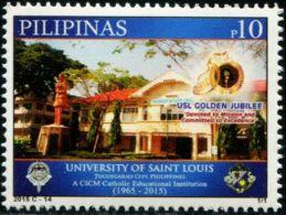 PH0755 Philippines 2015 Saint Louis University Building 1v MNH - Philippines