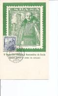 Espagne -Franco -El Caudillo ( CM Commémorative De 1953 à Voir) - 1951-60 Briefe U. Dokumente