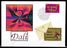 """UNIQUE : Enveloppe 1er Jour De 2004 """" UN GRAND MERCI """" N° YT 3637. FDC - 2000-2009"""