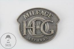 Mileage Harley Davidson Est. 1995 - Motorcycle Pin Badges - Transportes