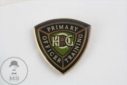 Motor Harley Davidson HOG Primary Officer Training - Motorcycle Pin Badges - Transportes