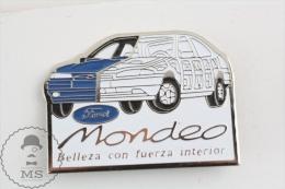 Ford Mondeo - Spanish Advertising Pin Badges - Transportes