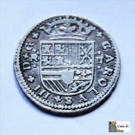 España- Carlos III El Pretendiente - 2 Reales - 1709 - [ 1] …-1931 : Reino