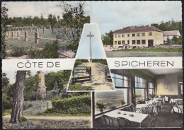 France - Spicheren - Restaurant - Nice Stamp - France