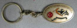 AC - KEY RING HOLDER OF TURKISH ARCHERY FEDERATION FROM TURKEY - Tiro Al Arco