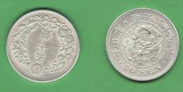 Japan Giappone 50 Sen Half Yen 1905 - Japon