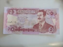 Billet  De 5 Dinars Iraq - Iraq