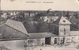 Thématiques 85 Vendée Nalliers Vue Générale Ecrite Timbrée Cachet  04 09 1907 - France