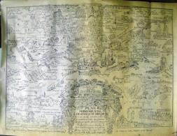 PLAN MONUMENTAL DE LA VILLE DE TOULON - Topographical Maps