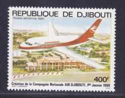 DJIBOUTI AERIENS N°   140 ** MNH Neuf Sans Charnière, TB - Djibouti (1977-...)