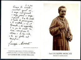 Santino - San Giuseppe Moscati - Santino Pieghevole Come Da Scansione - Santini