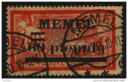 MEMEL 1920 - Yv 24 (o) - Memel (1920-1924)