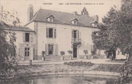 Thématiques 85 Vendée Châteaux Manoirs Demeures Les Brouzils Château De La Colle Ecrite Timbrée Cachet 08 01 1908 - France
