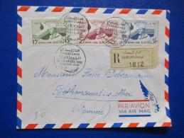 Lettre Du Maroc 1er Jour 23/11/1958 - Morocco (1956-...)