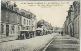 Marne : Ste Memmie Prés Chalons, Un Convoi D'Autos De Ravitaillement - Otros Municipios