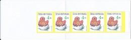 Czech Republic. Booklet,carnet.1998 Easter.Strip Of 5.MNH - Czech Republic
