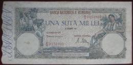 100000 (Una Suta Mii)  Lei 1946 (WPM 58a) - Romania