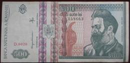 500 (Cinci Sute)  Lei 1992 (WPM 101b) - Rumania