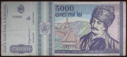 Romania - 5000 (Cinci Mii)  Lei 1993 (WPM 104) - Rumania
