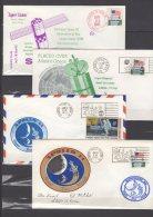 USA -  Lot De 50 FDC Commemoratifs  1971  , Appollo 14 -15  ,  Mariner 9 ,  ... - United States