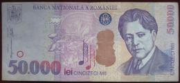 Romania - 50000 (Cincizeci Mii)  Lei 2000 (WPM 109A) - Rumania