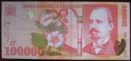Romania - 100000 (Una Suta Mii)  Lei 1998 (WPM 110) - Rumania