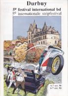 Programme Du 5e Festival International De La BD à DURBUY - 1990 - Books, Magazines, Comics