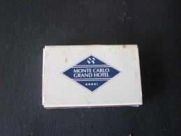 FIAMMIFERI GRAN HOTEL MONTE CARLO  MONACO BOX N. 1 - Boites D'allumettes - Etiquettes