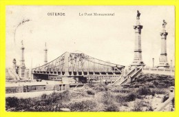 * Oostende - Ostende - Ostend (Kust - Littoral) * (Edition V.G.) Le Pont Monumental, Bridge, Brug, Rare, Old, CPA - Oostende