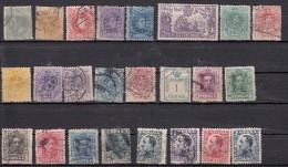 Espagne Ensemble De 24 Timbres Avant 1935 - 1889-1931 Kingdom: Alphonse XIII