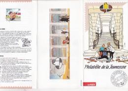 TINTIN : Dépliant La Poste - Philatélie De La Jeunesse - 1991 - FR - Books, Magazines, Comics