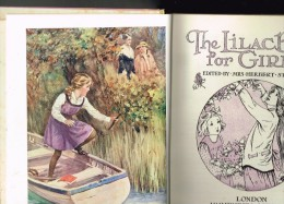 The Lilac Book For Girls - 1930 - Oxford - Enfants