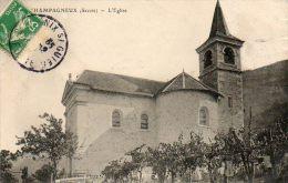 CPA - CHAMPAGNEUX (73) - Aspect De L'Eglise En 1907 - Autres Communes