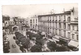 CP - TUNIS - AVENUE DE FRANCE ET PORTE DE FRANCE -N° 3 -PHOTO COMBIER MACON - Tunisia
