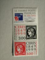 1999     P 3212A  * *  150 E Ann . Du  PREMIER TIMBRE FRANCAIS   TIMBRES SUR TIMBRES - Nuovi